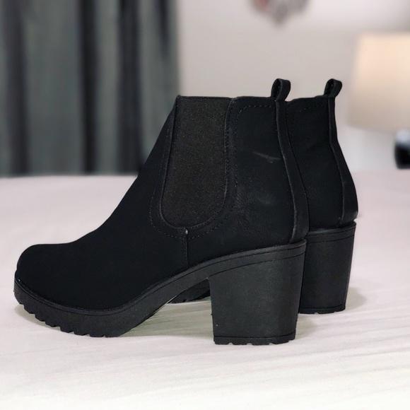 0901f317828 Boohoo Shoes | New Chunky Cleated Heel Chelsea Boots | Poshmark